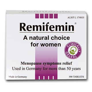 Image for Remifemin Menopause Symptoms Relief - 100 Tablets from Amcal