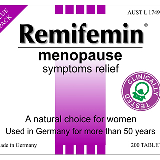 Image for Remifemin Menopause Symptoms Relief - 200 Tablets from Amcal