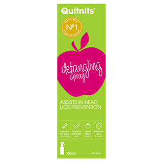 Image for Quitnits Detangling Spray - 150mL from Amcal