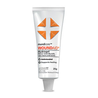Image for mundicare Woundaid Hydrogel + 25g from Amcal
