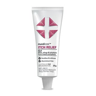 Image for mundicare Itch Relief Gel - 25g from Amcal