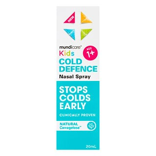 Image for Mundicare Kids Cold Defence Nasal Spray - 20mL from Amcal