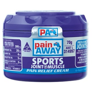 Image for Pain Away Sports Pain Relief Cream - 70g from Amcal