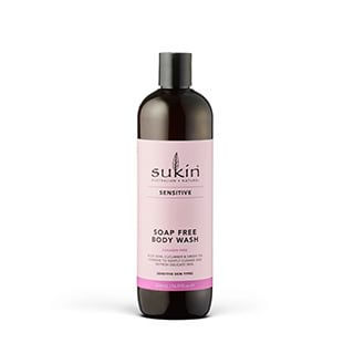 Image for Sukin Sensitive Soap Free Body Wash - 500mL from Amcal