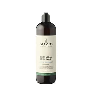 Image for Sukin Botanical Body Wash Lime & Coconut - 500mL from Amcal