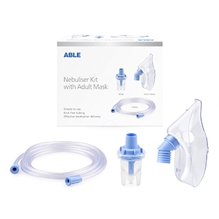Image for Able Nebuliser Mask Set Adult from Amcal