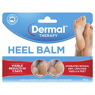 Image for Dermal Therapy Heel Balm - 50g from Amcal
