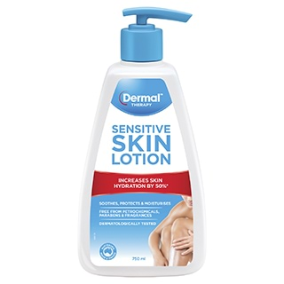 Image for Dermal Therapy Sensitive Skin Lotion - 750mL from Amcal