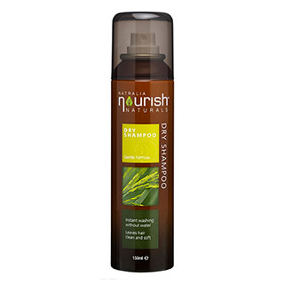 Image for Nourish Naturals Dry Shampoo Spray - 150mL from Amcal