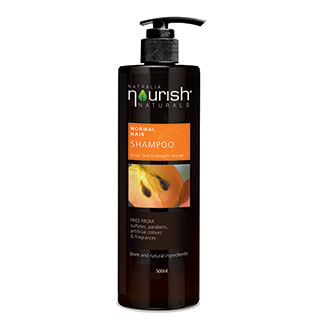 Image for Nourish Naturals Normal Hair Shampoo - 500mL from Amcal