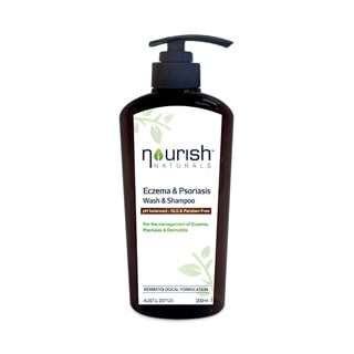 Image for Nourish Naturals Eczema & Psoriasis Wash & Shampoo - 200ml from Amcal