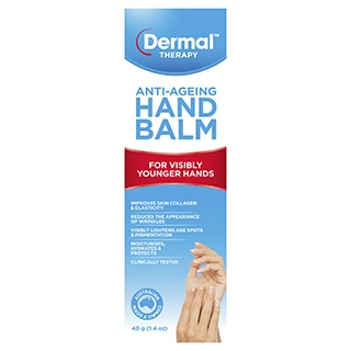 Image for Dermal Therapy Anti-Ageing Hand Balm - 40g from Amcal