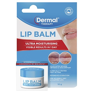 Image for Dermal Therapy Lip Balm Ultra Moisturising 10g from Amcal