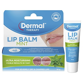 Image for DERMAL THERAPY Lip Balm Mint 10g from Amcal