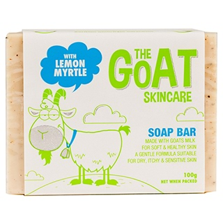Image for The Goat Skincare Soap Bar with Lemon Myrtle - 100g from Amcal