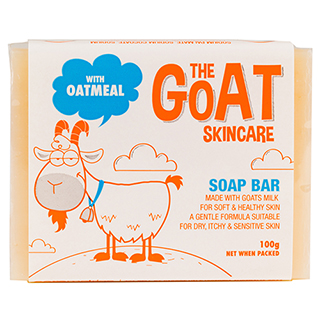Image for The Goat Skincare Soap Bar with Oatmeal - 100g from Amcal