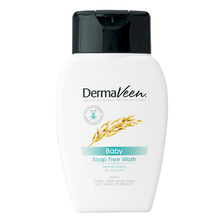 Image for DermaVeen Baby Soap Free Wash - 250mL from Amcal