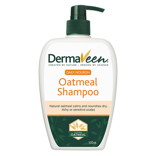 Image for DermaVeen Oatmeal Shampoo - 500mL from Amcal