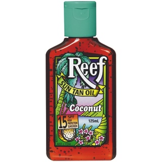 Image for Reef Dark Sun Tan Oil SPF 15+ Coconut - 125mL from Amcal