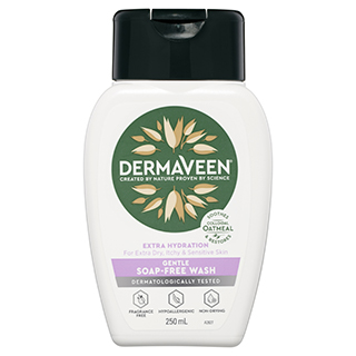Image for DermaVeen Extra Gentle Soap Free Wash - 250mL from Amcal