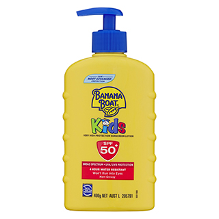 Image for Banana Boat Kids Pump SPF 50+ - 400g from Amcal