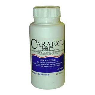 how to take carafate tablets