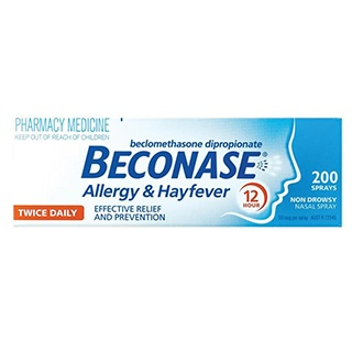 Image for Beconase Hayfever Nasal Spray - 200 Doses from Amcal