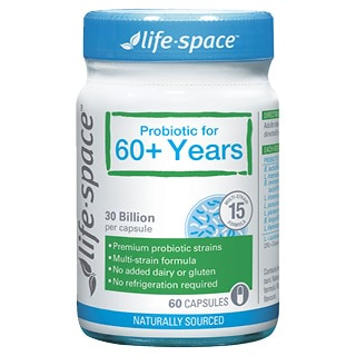Image for Life-Space 60+ Probiotic - 60 Capsules from Amcal