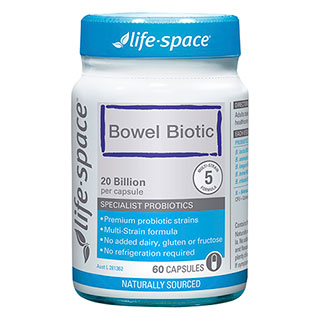 Image for Life-Space Bowel Biotic - 60 Capsules from Amcal