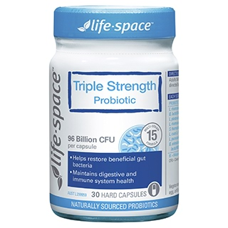 Image for Life-Space Triple Strength Probiotic - 30 Capsules from Amcal
