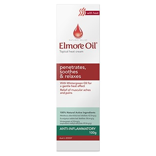 Image for Elmore Oil Muscle Heat Cream - 100g from Amcal