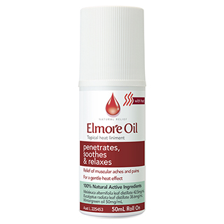 Image for Elmore Oil Musc Heat Roll On - 50ml from Amcal