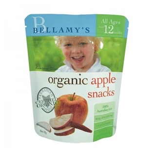 Image for Bellamy's Organic Apple Snacks from Amcal