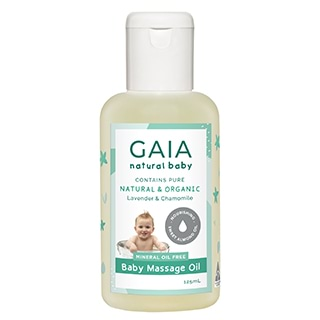 Image for GAIA Natural Baby Massage Oil - 125mL from Amcal