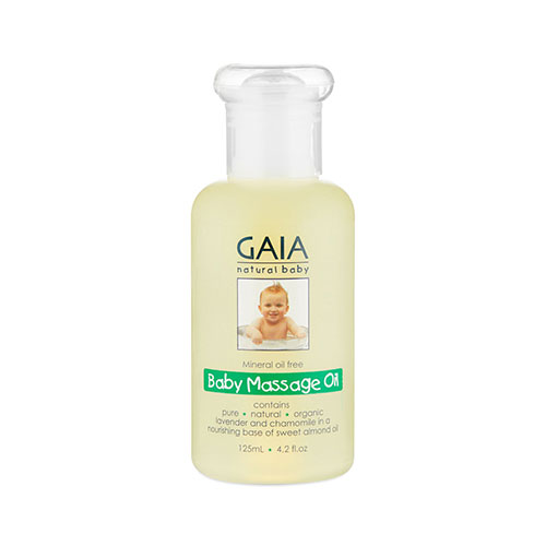 NEW Gaia Natural Baby Massage Oil 125mL