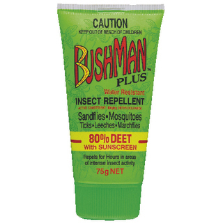Image for Bushman PLUS Repellent with Sunscreen Gel - 75g from Amcal