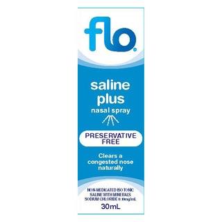 Flo Saline Nasal Spray 30ml Amcal