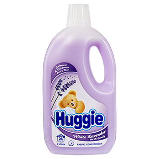 Image for Huggie Fabric Softener White Lavender - 2 Litre from Amcal