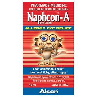 Image for Naphcon A Eye Drop - 15ml from Amcal