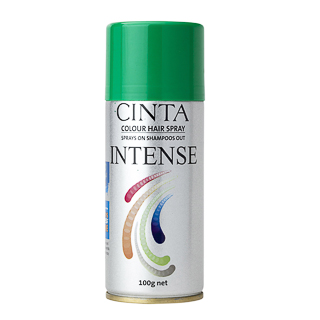 Image for Cinta Intense Colour Hairspray - Green 100g from Amcal