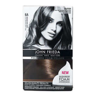Image for John Frieda Precision Foam Colour - Light Ash Brown 6A from Amcal