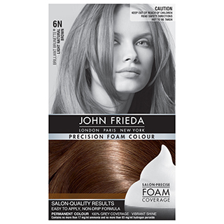 Image for John Frieda Precision Foam Colour - Light Natural Brown 6N from Amcal