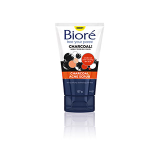 Image for Biore Charcoal Acne Scrub - 127g from Amcal