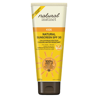 Image for Natural Instinct Kids Natural Sunscreen SPF30 - 200g from Amcal