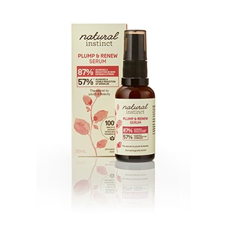 Image for Natural Instinct Plump & Renew Serum - 30mL from Amcal