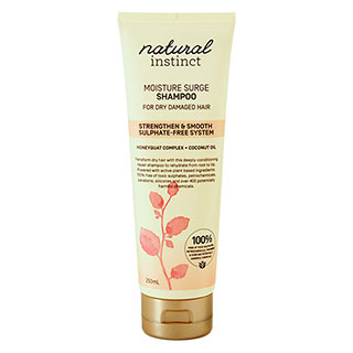 Image for Natural Instinct Moisture Surge Shampoo - 250mL from Amcal
