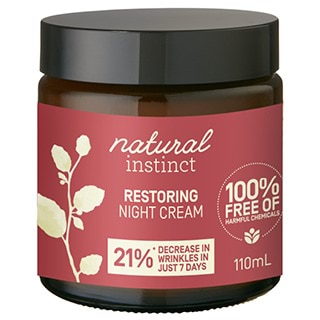 Image for Natural Instinct Restoring Night Cream - 110mL from Amcal