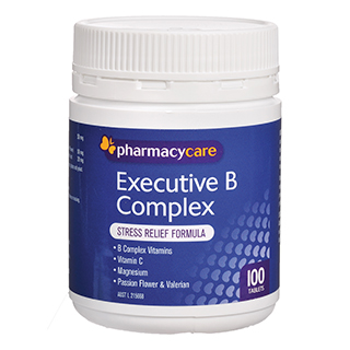 Image for Pharmacy Care Executive B Complex - 100 Tablets from Amcal
