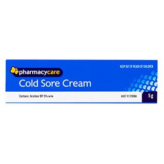 Image for Pharmacy Care Cold Sore Cream - 5g from Amcal