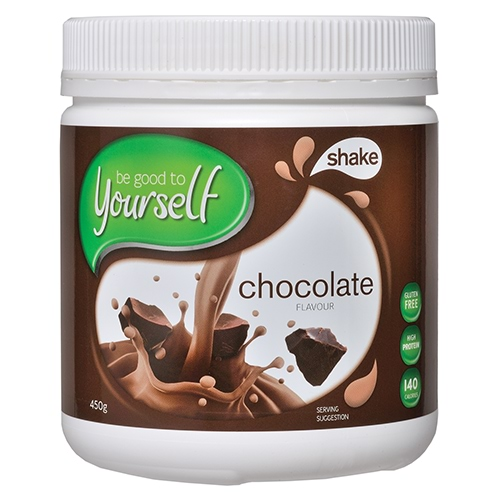 Image for Be Good To Yourself Shake Chocolate Tub - 450g from Amcal